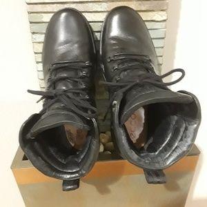 Mens - ECCO Track 6 Boots 2 - w/Goretex - Leather